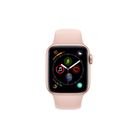AppleWatch Series4 GPS+Cellular, 40mm Gold Aluminium Case with Pink Sand Sport Band