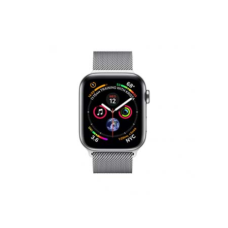 AppleWatch Series4 GPS+Cellular, 40mm Stainless Steel Case with Milanese Loop