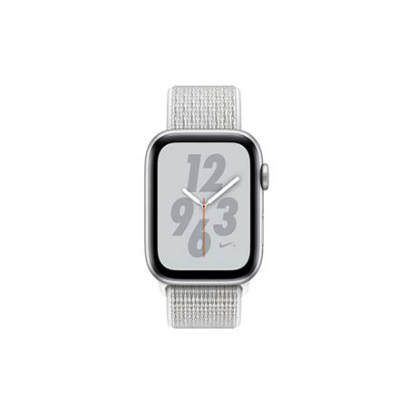 AppleWatch Nike+ Series4 GPS+Cellular, 40mm Silver Aluminium Case with Summit White Nike Sport L
