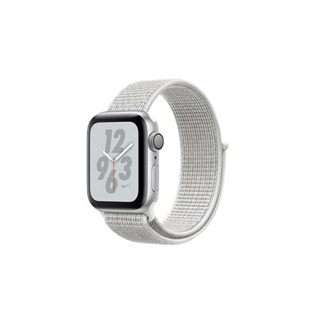 AppleWatch Nike+ Series4 GPS+Cellular, 44mm Silver Aluminium Case with Summit White Nike Sport L