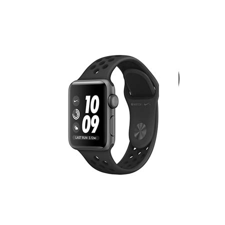 AppleWatch Nike+ Series4 GPS+Cellular, 40mm Space Grey Aluminium Case with Anthracite/Black Nike