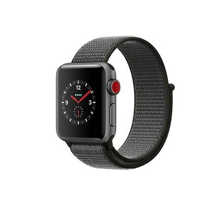 AppleWatch Nike+ Series4 GPS+Cellular, 44mm Space Grey Aluminium Case with Black Nike Sport Loop