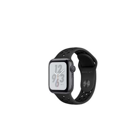 AppleWatch Nike+ Series4 GPS, 44mm Space Grey Aluminium Case with Anthracite/Black Nike Sport Band