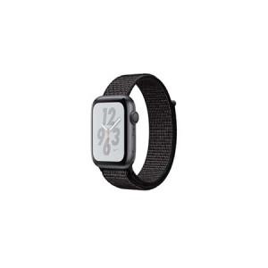 AppleWatch Nike+ Series4 GPS+Cellular, 40mm Space Grey Aluminium Case with Black Nike Sport Loop
